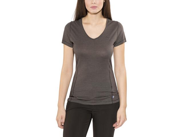 Fjällräven Abisko Cool T-Shirt Dames, dark grey